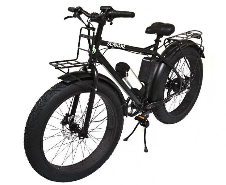 Электровелосипед Eltreco SCHWARZ черный матовый – купить в Ульяновске, цена 75 000 руб. в интернет-магазине Артем Тулс